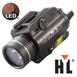 Lampe tactique Streamlight TLR-2 HL G - Led blanche et Laser vert