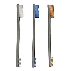 Brosses doubles embouts Mix (Pack de 3) - Otis - 1