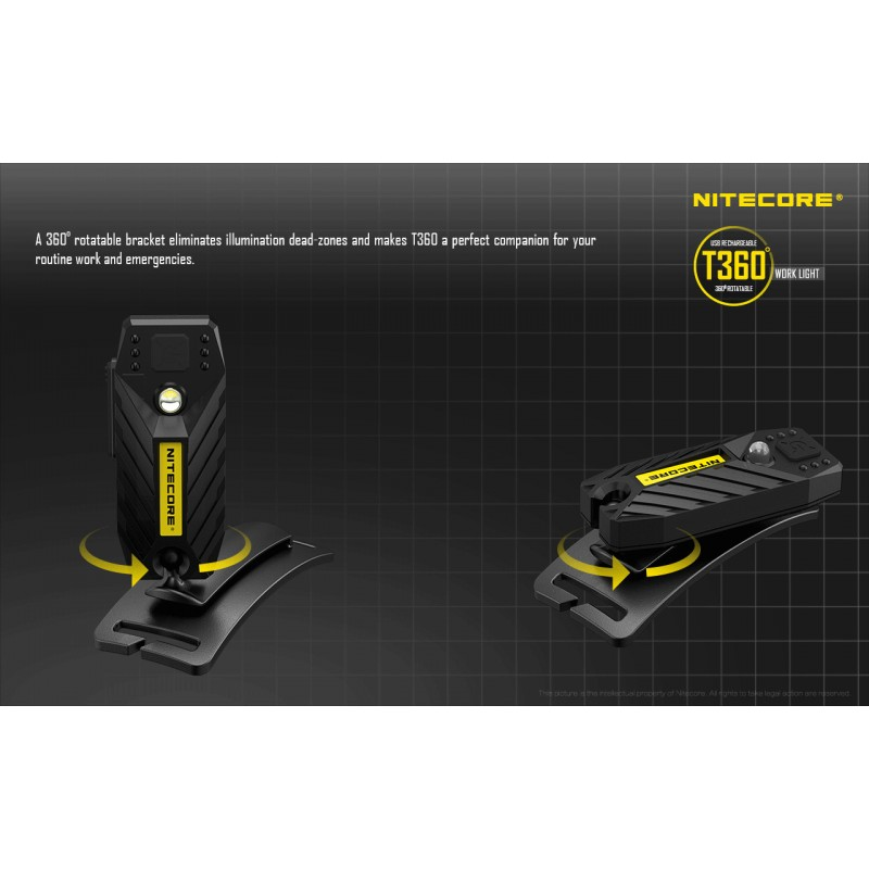 lampe frontale nitecore t360 rechargeable conditions. Black Bedroom Furniture Sets. Home Design Ideas