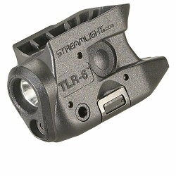 Lampe tactique Streamlight TLR-6 - Led blanche et Laser rouge pour Kahr - 1